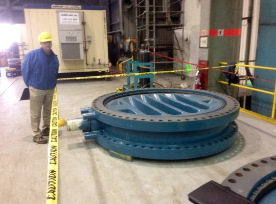 84 Inch Butterfly Valve