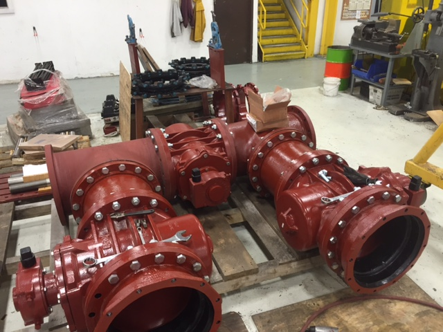 Kennedy Valve - 18 Inch Plug Valve Manifold - Rousellot Foods
