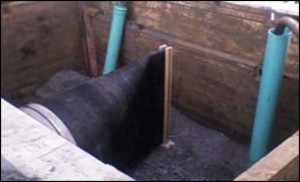 Onyx Valve - 42 Inch Duckbill Check Valve - Power Plant Outfall