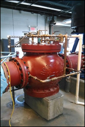 Ross Valve - 18 Inch Pump Control Valve - US Army Corps of Engineers - Lake Moultrie, SC