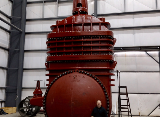Kennedy Valve   96-Inch Solid Wedge Gate Valve   Anacostia, MD