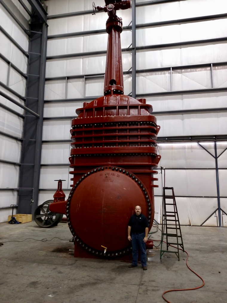 Kennedy Valve | 96-Inch Solid Wedge Gate Valve | Anacostia, MD